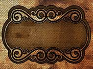 复古编织花纹背景图片素材