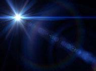 星光閃耀藍色背景圖