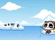 壁纸桌面经典可爱卡通无知熊猫