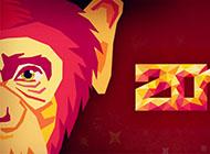 猴年2016喜庆元旦经典桌面壁纸