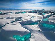 唯美大自然雪景風光電腦桌面壁紙