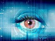 眼睛经典创意科技背景图片