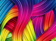時尚彩色線條炫酷背景圖片素材