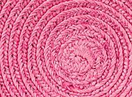 背景图片小清新粉色草帽