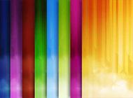 彩色線性條紋高清背景素材