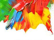 背景圖片 時尚油畫顏料