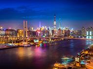 上海唯美城市夜景高清壁纸