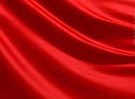 ppt背景图片 红色简约绸缎