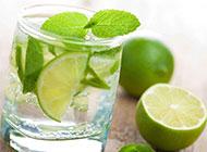 夏日清新檸檬水冰飲個性高清背景