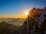 日出美丽山水风景精美壁纸