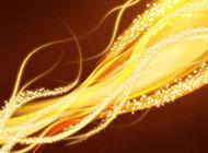 黄色燃烧的火焰背景高清图片