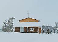 日本北海道雪景精美壁纸