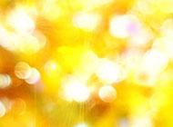 黄色光晕唯美背景高清图片素材
