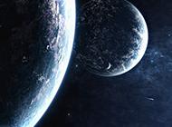 唯美自然星空宇宙背景图片
