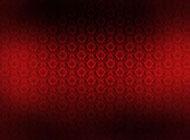 喜慶紅色漸變花紋背景圖片素材