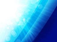 夢幻藍色漸變背景高清圖片