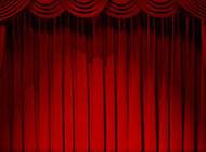 喜庆红色舞台免费背景图片素材