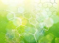 材料化学分子结构ppt背景图片