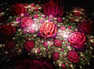 高清夢幻非主流3D唯美花朵壁紙