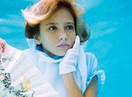 一個少女的奇妙海下世界夢幻創意美圖