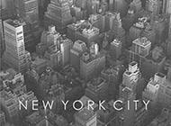 欧美城市黑白风景创意手机壁纸