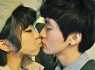 情侣幸福接吻非主流图片