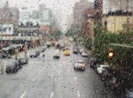 寂寞城市浪漫唯美雨景