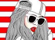 个性帅气欧美风卡通霸气壁纸图片