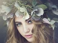 森系少女欧美浪漫风格图像