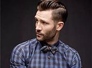 欧美男生潮流时尚油头发型头像