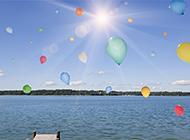 高清梦幻唯美气球图片欣赏
