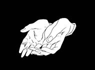 个性欧美黑白创意插画壁纸