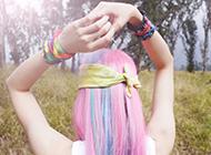 粉色治愈系歐美原宿風女生壁紙