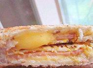 自制三明治做法图解