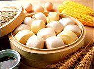 营养满分的五谷杂粮馒头图片