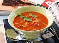 西餐經典菜肴羅宋湯圖片