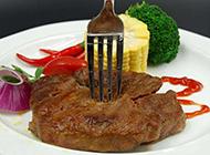秀色可餐的美味牛排图片