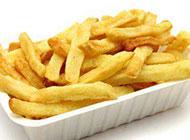 美味的椒鹽薯條圖片