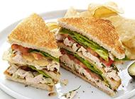 自制健康三明治美味营养