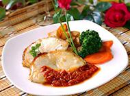 自制浪漫鱼扒西餐图片