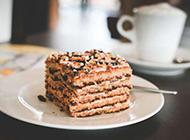 精致的西式小糕點圖片