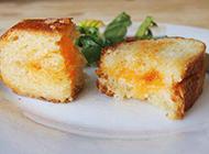 法式烤乳酪面包片图片