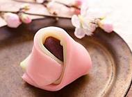 日式点心图片粉嫩甜美
