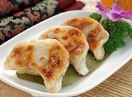 香煎饺子图片焦香诱人