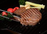 好看又美味的铁板牛排图片