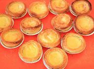 刚出炉的澳门葡式蛋挞图片