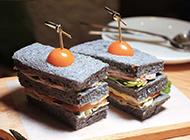 创意美食三明治 不仅能吃还美观