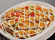 诱人的港式美食猪排焗米饭图片