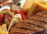 美味的烤牛排西餐美食图片