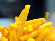 黃澄澄的薯條圖片